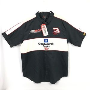 NWT Vintage Dale Earnhardt Shirt XL Goodwrench #3
